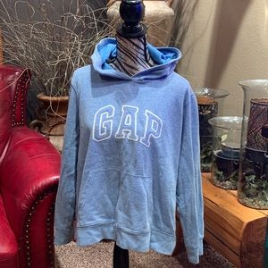 New without tags blue gap hoodie